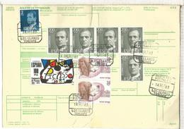 LOS LLANOS TENERIFE  1983 BOLETIN PAQUETE POSTAL MAT PAQUETE POSTALES - 1931-Aujourd'hui: II. République - ....Juan Carlos I