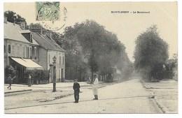 91-MONTLHERY-Le Boulevard...1905  Animé - Montlhery