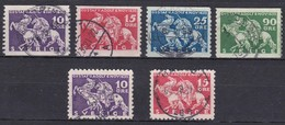 SE103 – SUEDE – SWEDEN – 1932 – GUSTAV II Adolphe – SC 230/35 USED 10 € - Used Stamps