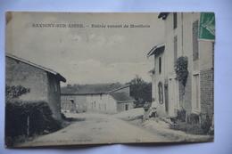 SAVIGNY-sur-AISNE-entree Venant De Monthois - Frankrijk