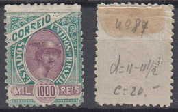 Brazil Brasil Mi# 113 (*) Mint MADRUGADA 1000R 1894 - Neufs