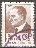 Turquie - 1982 - Atatürk - YT 2355 Oblitéré - 1921-... Republiek