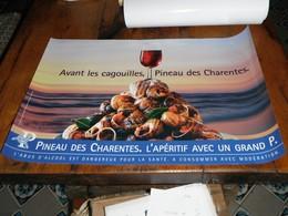 Affiche Pineau Des Charentes Escargots Cagouilles - Posters