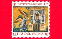 VATICANO - Usato - 2019 - Natale - Mosaico Della Basilica Di Santa Maria In Trastevere, A Roma - 1.10 - Vaticano