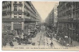 CPA PARIS Ier Arrondt TOUT PARIS Les Halles Le Matin Rue Etienne Marcel  N°1236  F Fleury - Arrondissement: 01