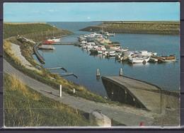 Ca. 1962 Scharendijke Jachthaven Kleur Gelopen /  Zegel Verwijderd - Scharendijke