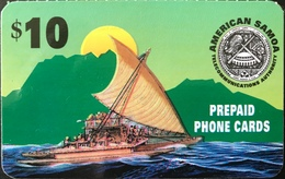 SAMOA AMERICAINE -  RR -  Prepaid - $10 - Samoa Americana