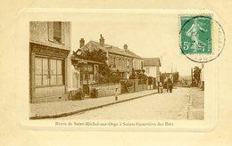 Route De St Michel Sur Orge à Ste Genevieve Des Bois - Sainte Genevieve Des Bois