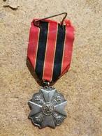 Belgique Médaille, Médaille Acte Courage. Argent - België