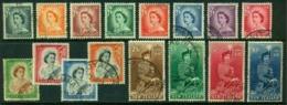 """-New Zealand-1953-""""Definitives """" (o) - New Zealand"""
