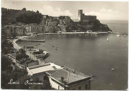 V4259 Lerici (La Spezia) - Panorama Col Castello - Castle Chateau Schloss Castillo / Viaggiata 1954 - Autres Villes