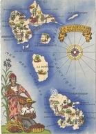 CPSM Illustrateur Barré Dayez La Guadeloupe La Martinique - Contemporain (à Partir De 1950)