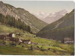 ALTO ADIGE - TRAFOI G.D. WEISSKOGL. - VECCHIA FOTO A COLORI SU CARTA LEGGERA - CM 16 X 22 - Luoghi