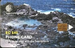 St. VINCENT § LES GRENADINES  -  Chipcard -  Cable %  Wireless  -  EC$40 - St. Vincent & The Grenadines