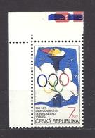 Czech Republic 1994 MNH ** Mi 46 Sc 2927 100th Anniversary Of The International Olympic Committee.Tschechische Republik - Czech Republic