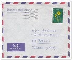 Ethiopië 1970, Letter From Addis Ababa To Bonn, Germany - Ethiopia