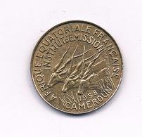 5 FRANCS 1958 KAMEROEN /1527/ - Kameroen