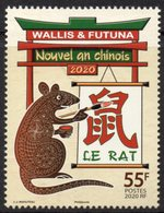 Wallis Et Futuna 2020 - Nouvel An Chinois, Année Du Rat - Neuf // Mnh - Wallis-Et-Futuna