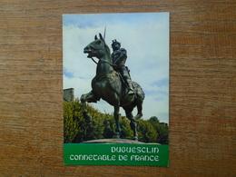 Dinan , Statue De Duguesclin , Connétable De France - Dinan