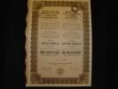 """Action """"Sté Des Hauts Fourneaux Et Usines D'Ostrowiec""""Varsovie Warszawa 1918 Excellent état,manque 2 Coupons Pologne - Industrie"""