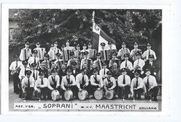 Maastricht Soprani Muziek Foto Kaart - Maastricht