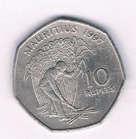 10 RUPEES 1997 MAURITIUS /1535/ - Mauritius