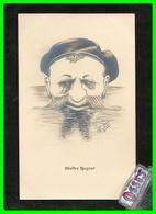 CINQ C.P.A. A.MOULIN. Dessins Détounées.....(rectos Verso) - Autres Illustrateurs