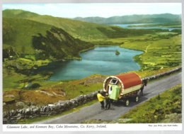 PC  2/71 J.Hinde - Glanmore Lake, And Kenmare Bay, Caha Mountains + Attelage, Co.Kerry ,Ireland. Unused - Kerry