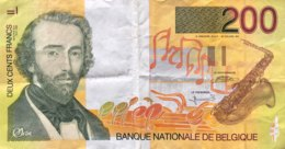 Belgium 200 Francs, P-148 (1995) - Very Fine - [ 2] 1831-...: Belg. Königreich