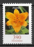 2006 Allem. Fed. Deutschland Germany Mi. 2534  **MNH Blumen   Feuerlilie (Lilium Bulbiferum) - Ongebruikt