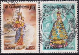 SRI LANKA 1985 SG #914-15 Compl.set Used Christmas - Sri Lanka (Ceylan) (1948-...)