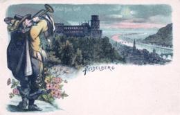 Deutschland - Gruss Aus HEIDELBERG -behut Dich Gott - Heidelberg