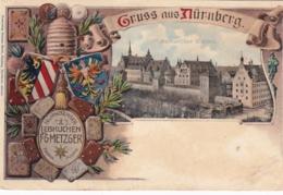 Deutschland - Gruß Aus Nürnberg - Nuernberg - - Nuernberg