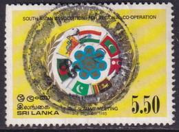 SRI LANKA 1985 SG #923 5r50 Used South Asian Association - Sri Lanka (Ceylan) (1948-...)