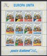 Italie. An 1993  Y&T  N° 1987/98 (en Feuille) **, MNH, Neuf(s). Cote Y&T 2012 : 18 € - 1991-00: Ungebraucht