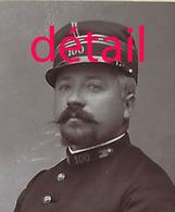 CDV En 1892-officier Du 100e R-photo Alfred Gendraud à Clermont-ferrand - War, Military