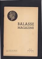 BALASSE MAGAZINE N° 27 Oct.1942 + Supplement Au Catalogue Balasse - Guides & Manuels