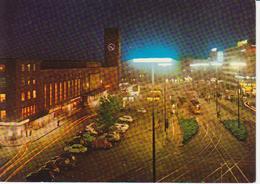 Dusseldorf Am Rhein - Vue De Nuit Avec Tramway - Neuve - Düsseldorf
