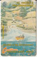 ST. VINCENT & THE GRENADINES(GPT) - Environment 1/River, CN : 8CSVAB, Tirage 5000, Used - San Vicente Y Las Granadinas