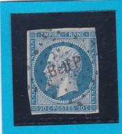 N° 14A   AMBULANT DE FRANCE  - Belf P -    - REF 14615 - 1853-1860 Napoleon III