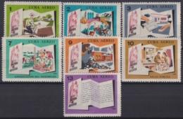 1966.159 CUBA 1966 MNH Ed.1354-60. FIDEL CASTRO LA HISTORIA ME ABSOLVERA. LOGROS DE LA REVOLUCION. - Kuba