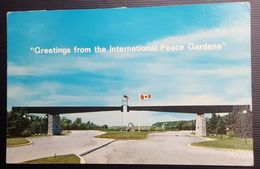 Canada - Entrance Gates To The Peace Gardens. Boissevain, Manitoba - Other