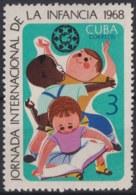 1968.75 CUBA 1968 MNH Ed.1575. JORNADA INTERNACIONAL DE LA INFANCIA CHILDREN UNICEF. - Neufs