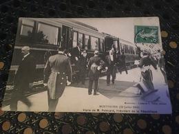 [Montdidier] : Visite De M. Poincaré, Président De La République - 12 Juillet 1914 - Montdidier
