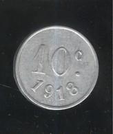 10 Centimes Ville De Vanves 1918 - Monnaie De Nécessité - TTB+ - D. 10 Centimes
