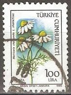 Turquie - 1985 - Camomille - YT 2473 Oblitéré - 1921-... Republiek