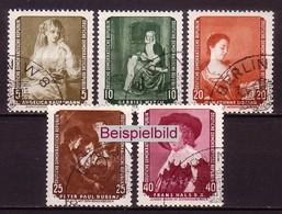 DDR 693-697 Gestempelt SST (ExEAG) - Used Stamps