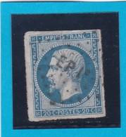 N° 14B  AMBULANT DE FRANCE   -EP1 °-  REF 14615 - 1853-1860 Napoleon III