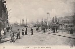 FECAMP Le Quai Et Le Bassin Bérigny ( ND 83 ) - Fécamp