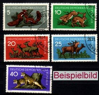 DDR 737-741 Gestempelt BST/SST (ExEAG) - Used Stamps